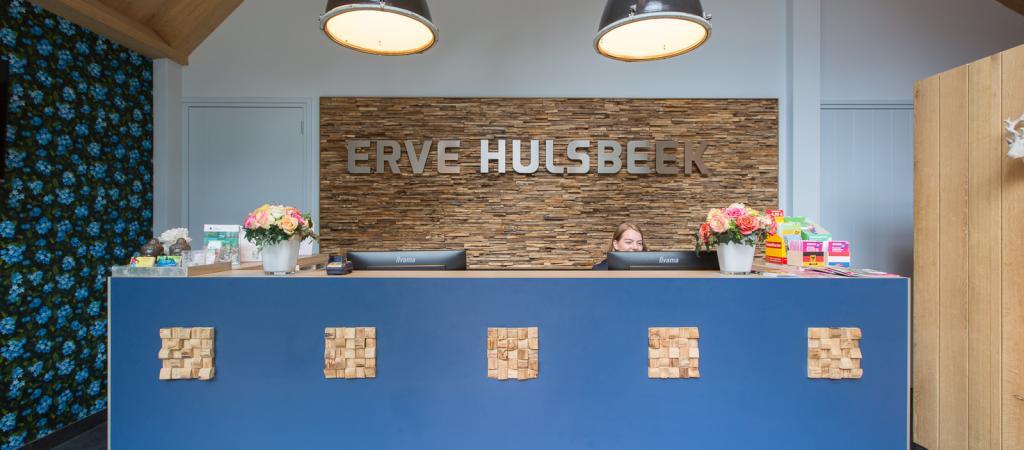 Rezeption Hulsbeek Hotel